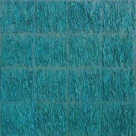 18º GILBERT HERREYNS tecnica mixta sobre tela 80x80 2013